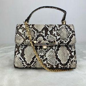 Topshop Snakeskin Handbag